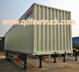 CIMC 13m 50 tons closed Van Trailer