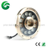 12X1w LED Fountain Light LED Under Light RGB