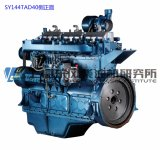 6 Cylinder Diesel Engine. Shanghai Dongfeng Diesel Engine for Generator Set. Sdec Engine. 405kw