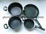 Kitchenware Aluminum Non-Stick Cookware Set of Xinjia
