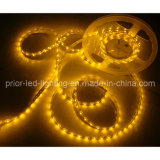 Yellow 590-595nm LED3528 Flexible Strip 4.8W/M