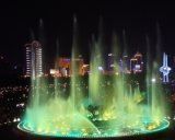Square Circular Musical Dancing Fountain/ Colorful Lighting Outdoor Fountain