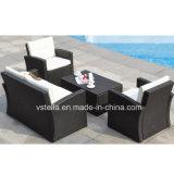 Pool Garden Wicker Patio Outdoor Rattan Sofa Set