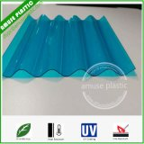 Colored / Sized Heat-Insulation Plastic Polycarbonate Solid Corrugated Roofing Skylight Sheets