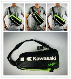 Kawasaki Waterproof Microfiber Motorcycle Travel Sport Chest Bag