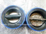 Cast Iron Rubber Liner Butterfly Type Check Valve