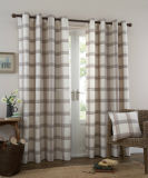 2*W140*H260cm Stripe Sheer Panels Sheer Window Curtains Tabs Voile