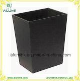 Hotel Durable Leather Black Storage Bins
