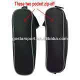 Two Zipper-off Pockets PU Golf Shoes Bag