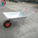 European Market 65L Zinc Plated Wheelbarrow