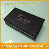 Fashion High Quality Paper Cardboard Black Jewelry Box