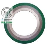 Asme B16.50 Flange Spiral Wound Gasket 316L Ss/ Graphite with Outer & Inner Ring (RS-CGI)