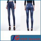 High Waist Scratch & Rip Women Skinny Jeans (JC1193)