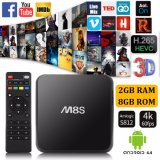 M8s Android 4.4 TV Box Quad-Core S812 4K 2g/8g Streaming Media Player