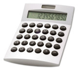 Promotion 12 Digits Solar Calculator, Solar, Batteries