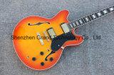 Lemon Burst Es 335 Guitar Jazz Hollow Body Style