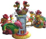 Dinosaur Rotating airplane Game Machine
