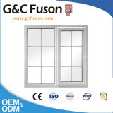 Tilt and Turn Aluminium Window with Moden Grill Design