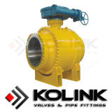 Metal Seated Ball Valve for High Temperature Services