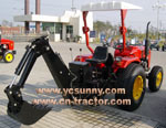 CE Approved Backhoe (LW)