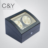 Black High Gloss Paint Wooden Watch Winder Box Cy-M006