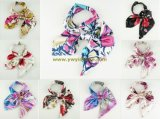 Wholesale Fashion Printed Multifunction Magic Silk Scarf Various Patterns in Stock