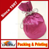 Custom Imprint Velvet/Organza Bag (9314)