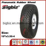 Qingdao 10 Inch Pneumatic Rubber Wheel 410/350-4