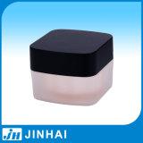 (T) Square Acrylic Jar Cream Cosmetic Jar