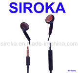 Mobile Earphone with Mic and Brand Copy
