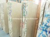 Natural Cream Marble Slab for Flooring Tile, Wall Cladding