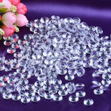 Small Size 8mm-20mm Clear Glass Crystal Diamond Loose Beads