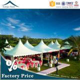 5m*5m Guangzhou Tenda Banquet Decoration Exhibition Span Ceremony Pagoda Tent