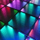 LED 3D Dance Floor LED Toughened Glass Dance Panel LED Mirror Abyss Dance Tile