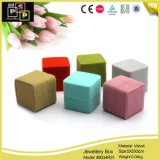 Hot Sale Velvet Jewelry Ring Gift Packaging Box (8034)