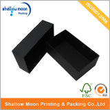 Full Black Luxury Gift Packaging Paper Lid and Box (QY150230)