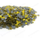 Popular Citrine Hotfix Rhinestone for Garment Wholesale