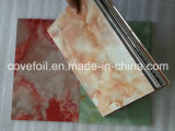 PVDF Decorative/Plastic Faux Marble Wall Panel/Cladding for Exterior Decoration