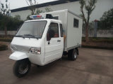Anther Hot Sale Model of Ambulance Cabin Box Tricycle