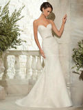 Sweetheat Embroidary Lace Bridal Gown Mermaid Wedding Dresses