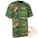 Military T-Shirt Adopt 100% Cotton Fabric
