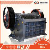 Zenith Stone Jaw Crusher with Capacity 20-800tph