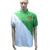Elegant Yoke Embroidery Polo Shirt for Manufacturer