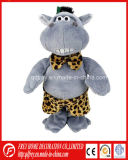 Funny Design Stuffed Toy of Soft Hippo Gift