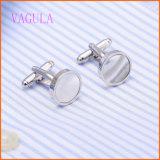 VAGULA Fashion 2016 Rhodium Plated Sea Shell Cuffs for Men