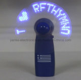 Blue Programmable Message LED Fan with Logo Printed (3509)