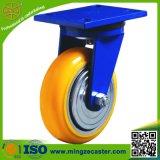Heavy Duty Swivel PU Caster Wheels for Platform Hand Trucks