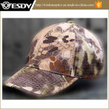 4 Colors Tactical Rattlesnake Airsoft Sport Hats Combat Baseball Cap