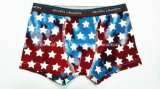 Gradient Color Star Pcture New Style Boy Boxer Brief