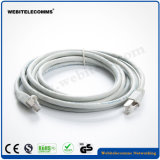 FTP CAT6A Network Patch Cord with Grey Color